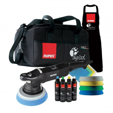 RUPES BigFoot LHR21/II Mark II Random Orbital Polisher Deluxe Kit