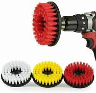 Direct Mount Rotary Brush - Red, Yellow, White