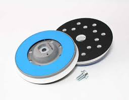 RUPES Backing Plate, 125mm, Hard Blue Ring, includes M8 Screw for BigFoot 15 Mark III
