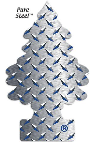 Little Trees Pure Steel one-pack (24 Count)