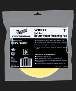 Meguiar's Soft Buff Rotary Foam Polishing Pad 7""