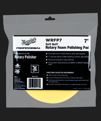 Meguiar's Soft Buff Rotary Foam Polishing Pad 7