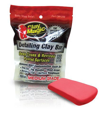 Auto Magic CM-1200 Clay Magic - Red 200grm
