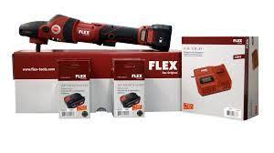 Flex PE 150 Cordless Rotary Polisher Set