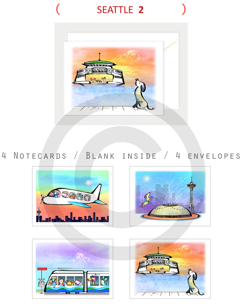 Notecard Seattle 2 design
