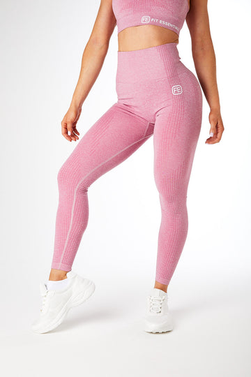 SEAMLESS LEGGINGS ROSÉ