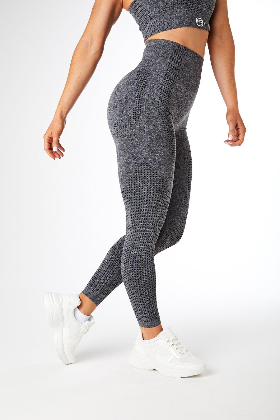 SEAMLESS LEGGINGS CHARCOAL