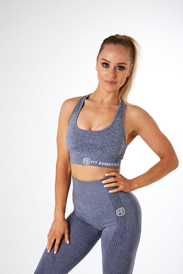 SEAMLESS SPORTS BRA STORM