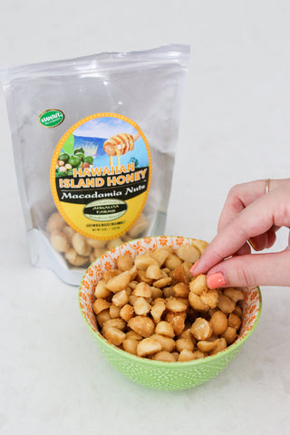 Ahualoa Farms Honey Mac nuts
