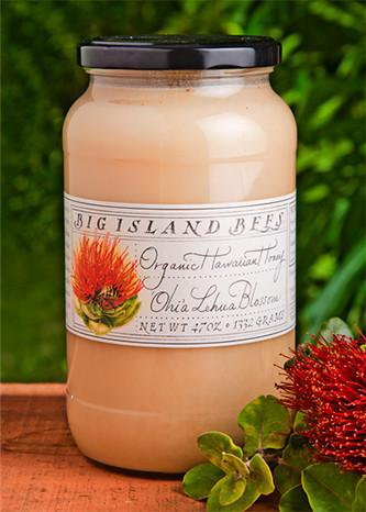Raw Organic White Ohia Lehua Blossom Honey - Hawaiian Farmers Market{