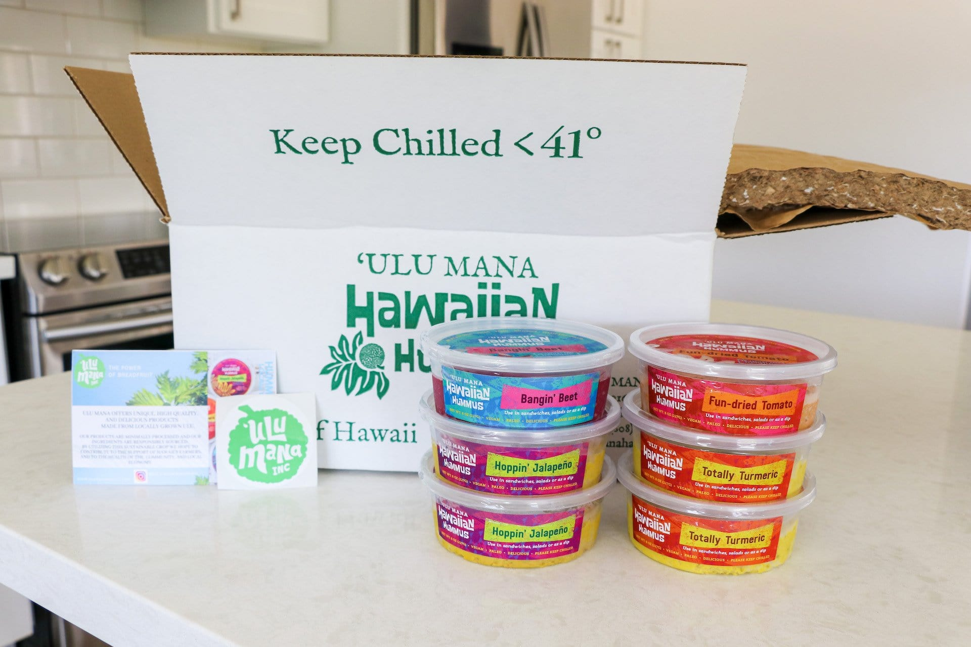 Hawaiian Hummus 6 Pack (free shipping) - Hawaiian Farmers Market{