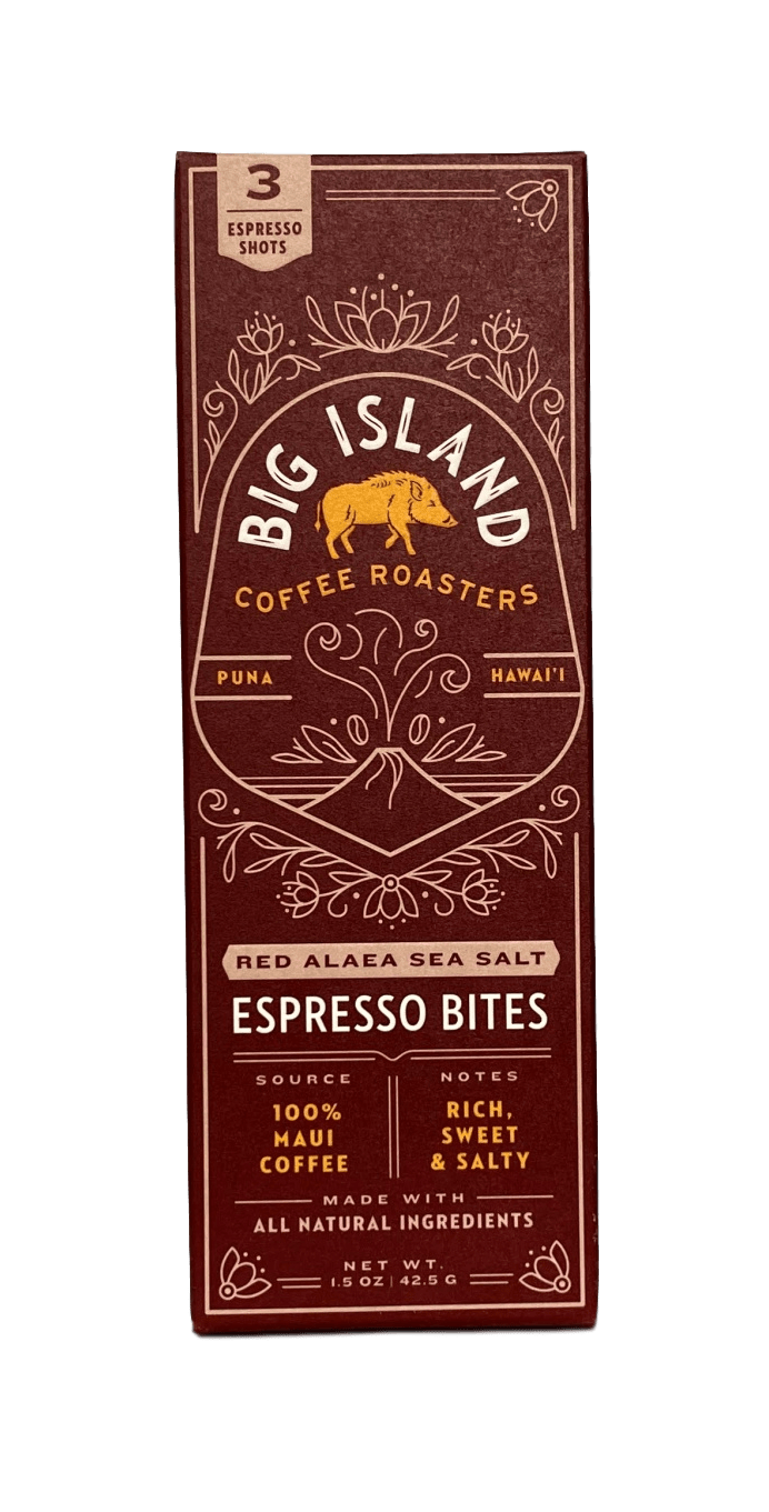 Sea Salt Espresso Bites - Hawaiian Farmers Market{