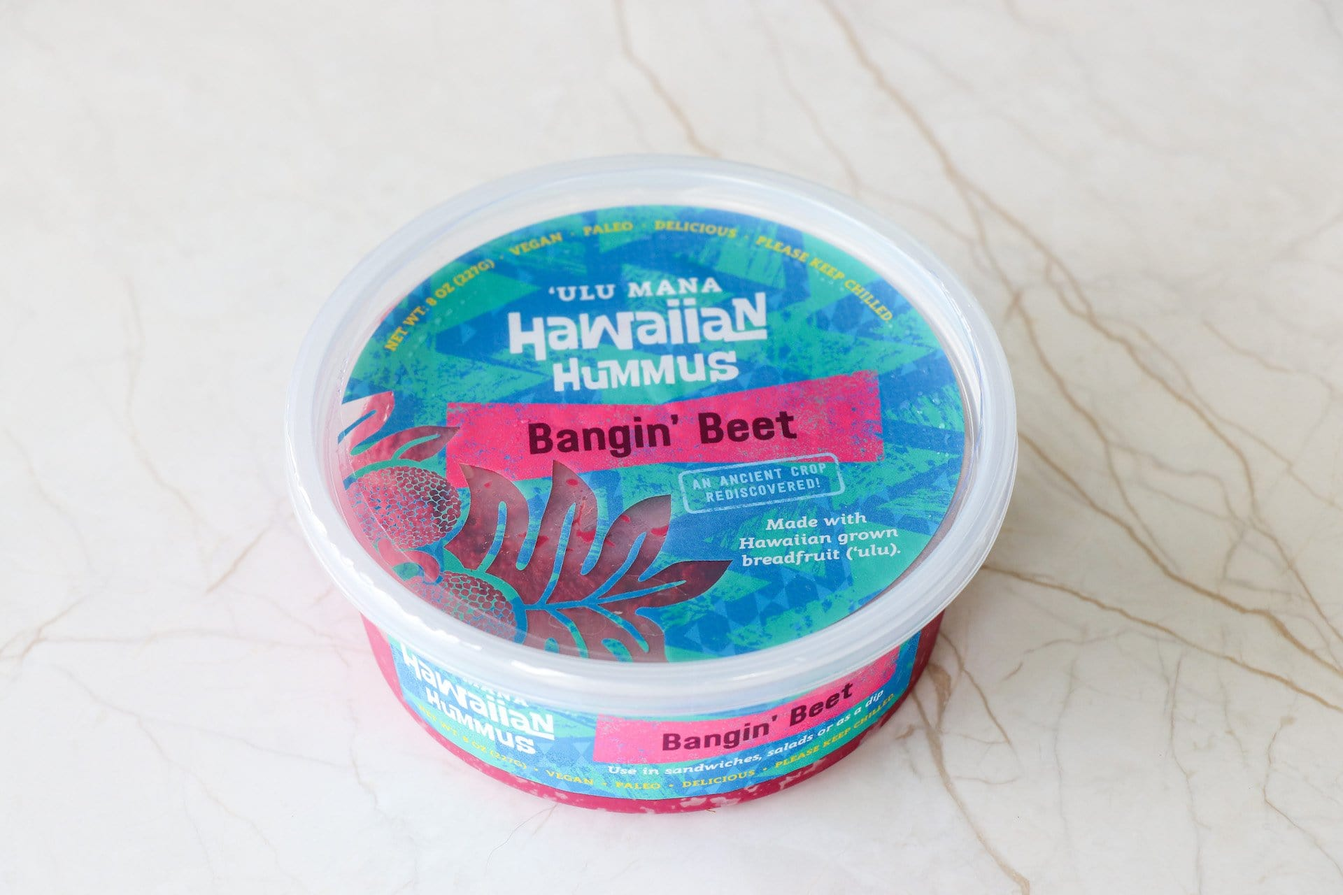 Hawaiian Hummus- Bangin' Beet (OAHU HOME DELIVERY ONLY) - Hawaiian Farmers Market{