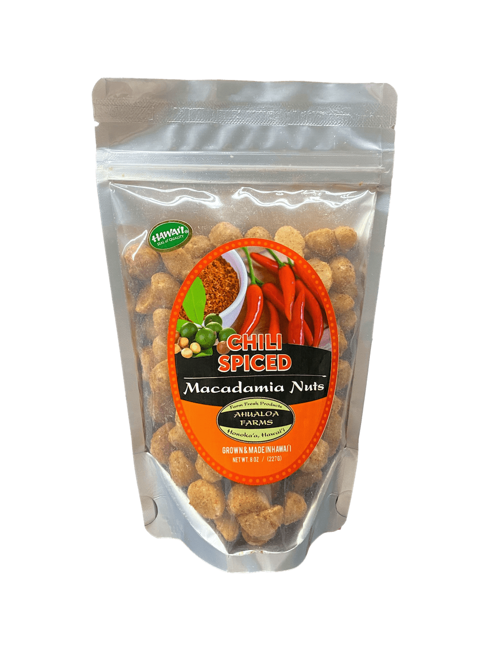 Chili Spiced Macadamia Nuts - Hawaiian Farmers Market