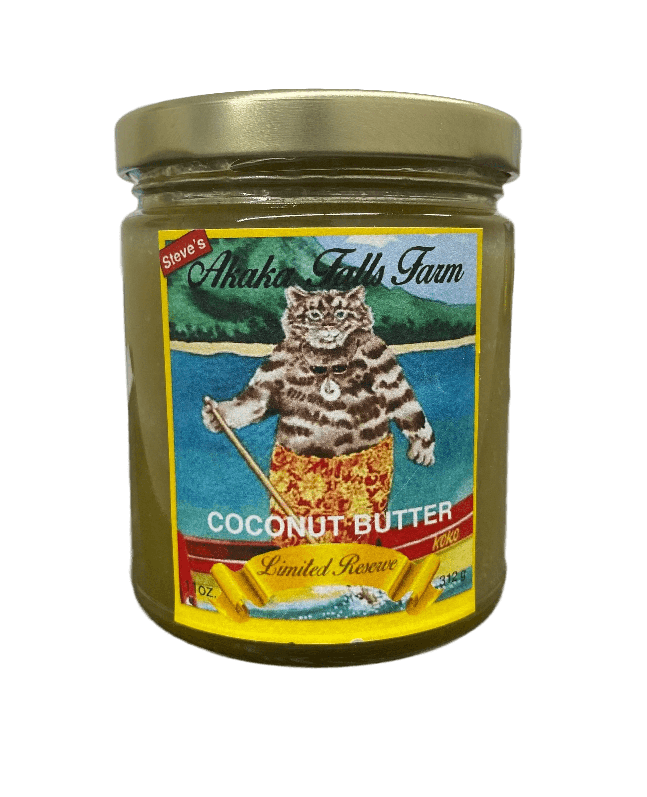 Coconut Butter 11oz - Hawaiian Farmers Market