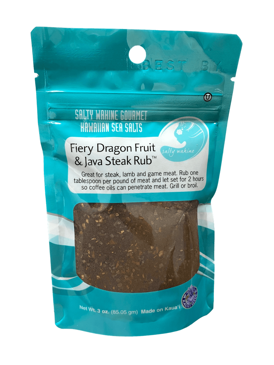 Fiery Dragon Fruit & Java Steak Rub - Hawaiian Farmers Market