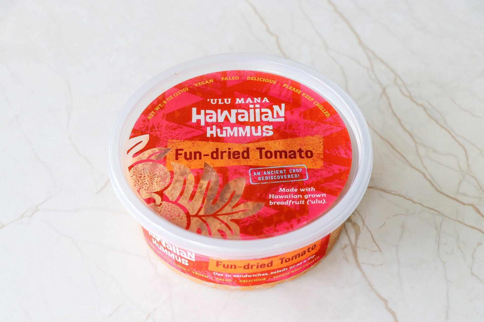 Hawaiian Hummus- Fun-dried Tomato (OAHU HOME DELIVERY ONLY) - Hawaiian Farmers Market{