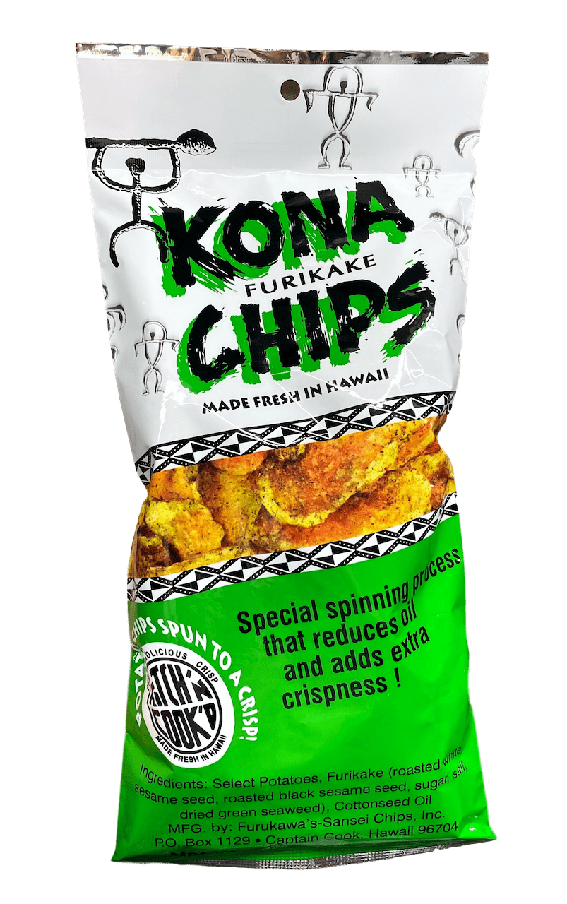 Furikake Potato Chips 3.25oz - Hawaiian Farmers Market{