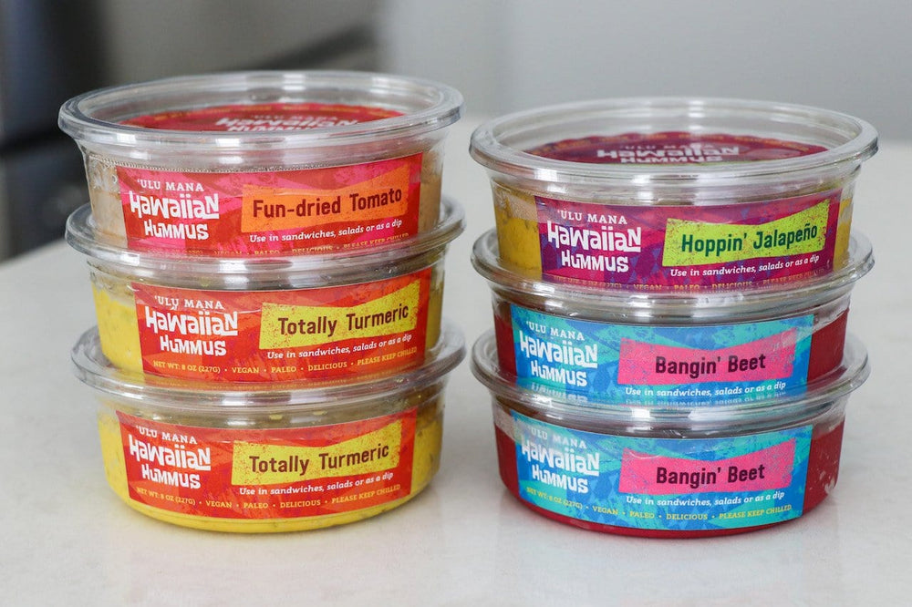 Hawaiian Hummus 6 Pack (free shipping)