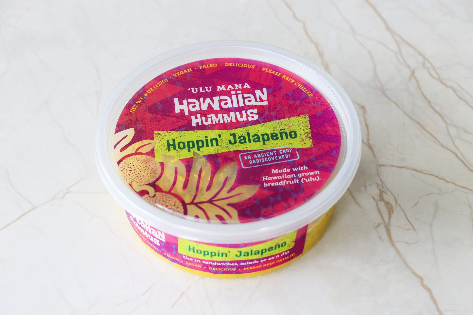 Hawaiian Hummus- Hoppin' Jalapeno (OAHU HOME DELIVERY ONLY) - Hawaiian Farmers Market{