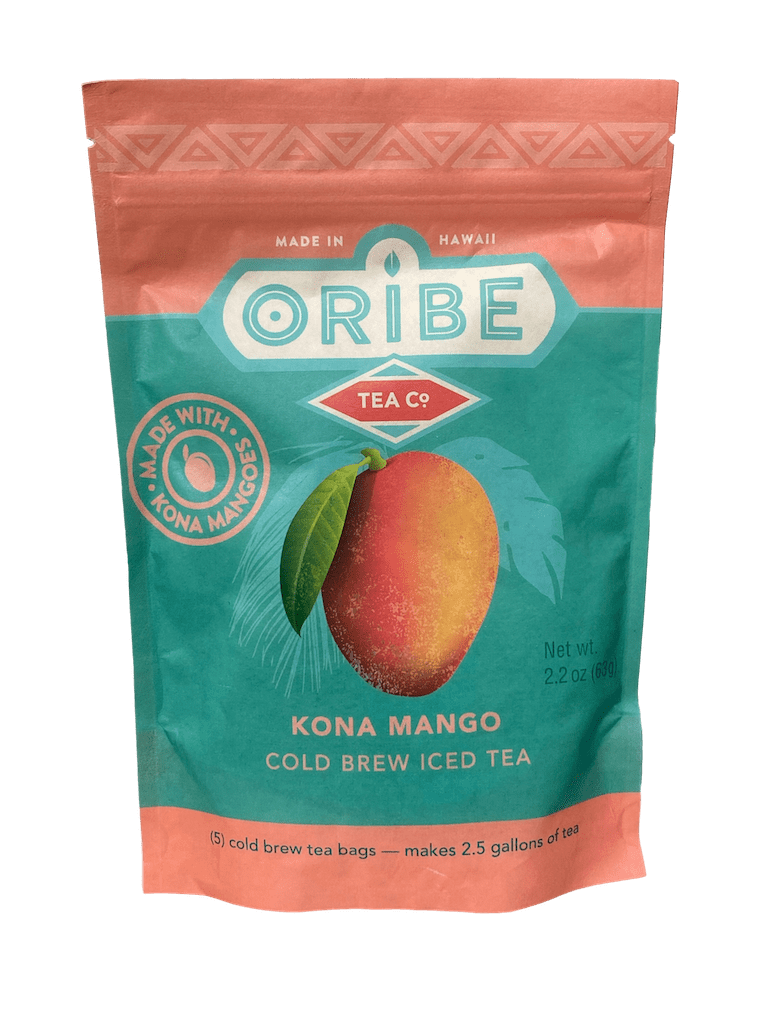 Kona Mango Cold Brew Iced Tea (Organic) 2.2oz - Hawaiian Farmers Market{