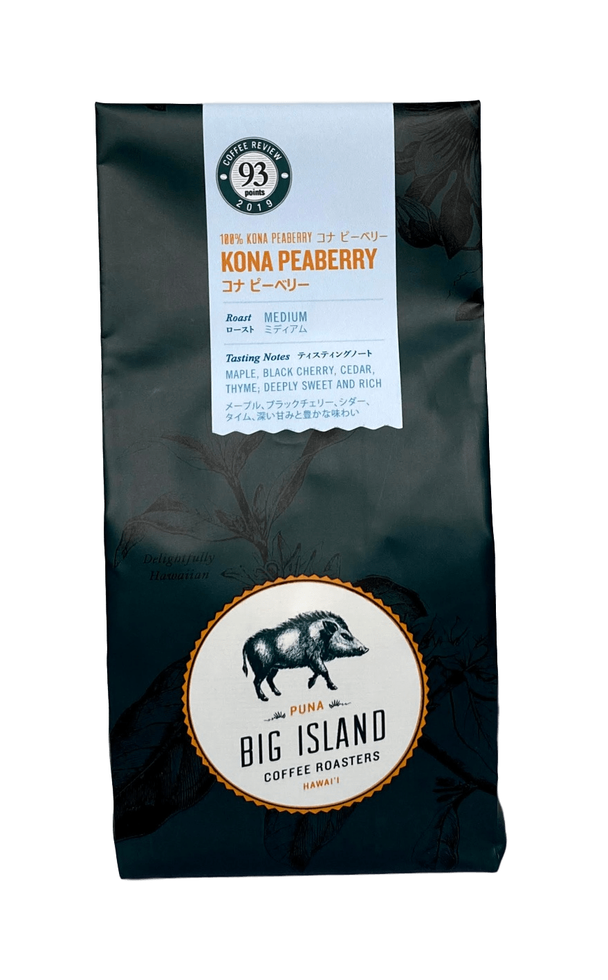 Kona Peaberry Coffee 7oz - Hawaiian Farmers Market{