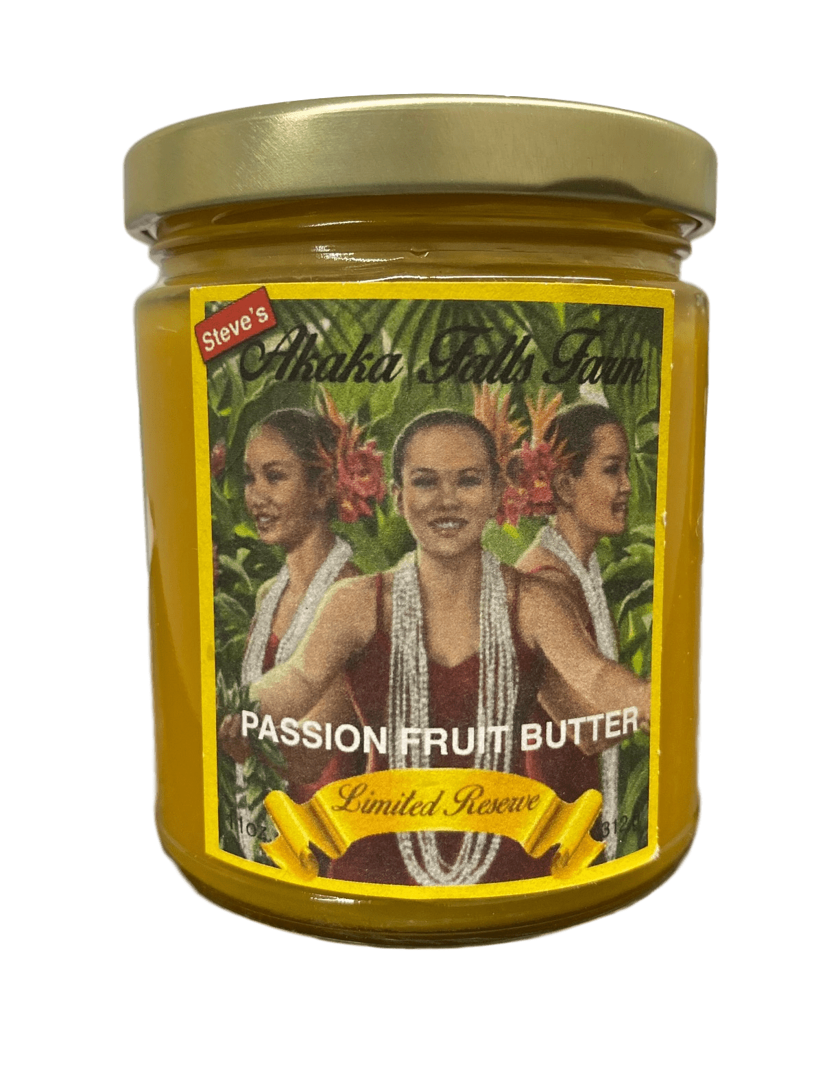 Passion Fruit Butter (Lilikoi) 11oz - Hawaiian Farmers Market{