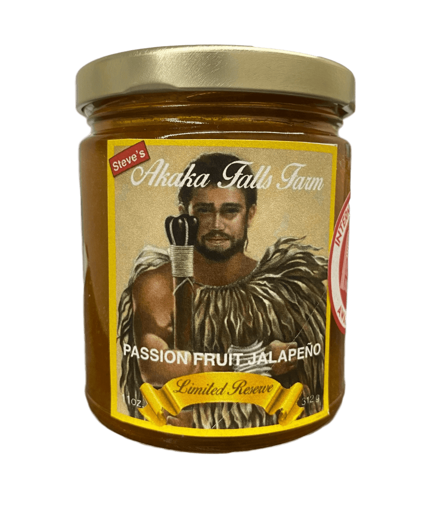 Passion Fruit Jalapeno Jam 11oz