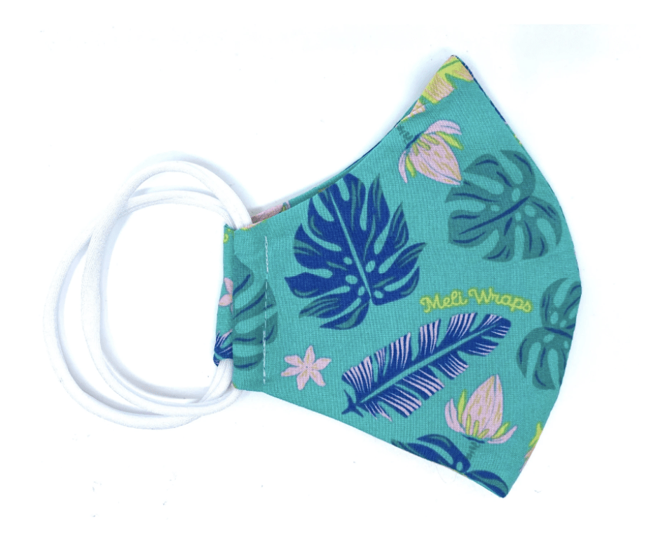Lau Print Face Mask - Hawaiian Farmers Market