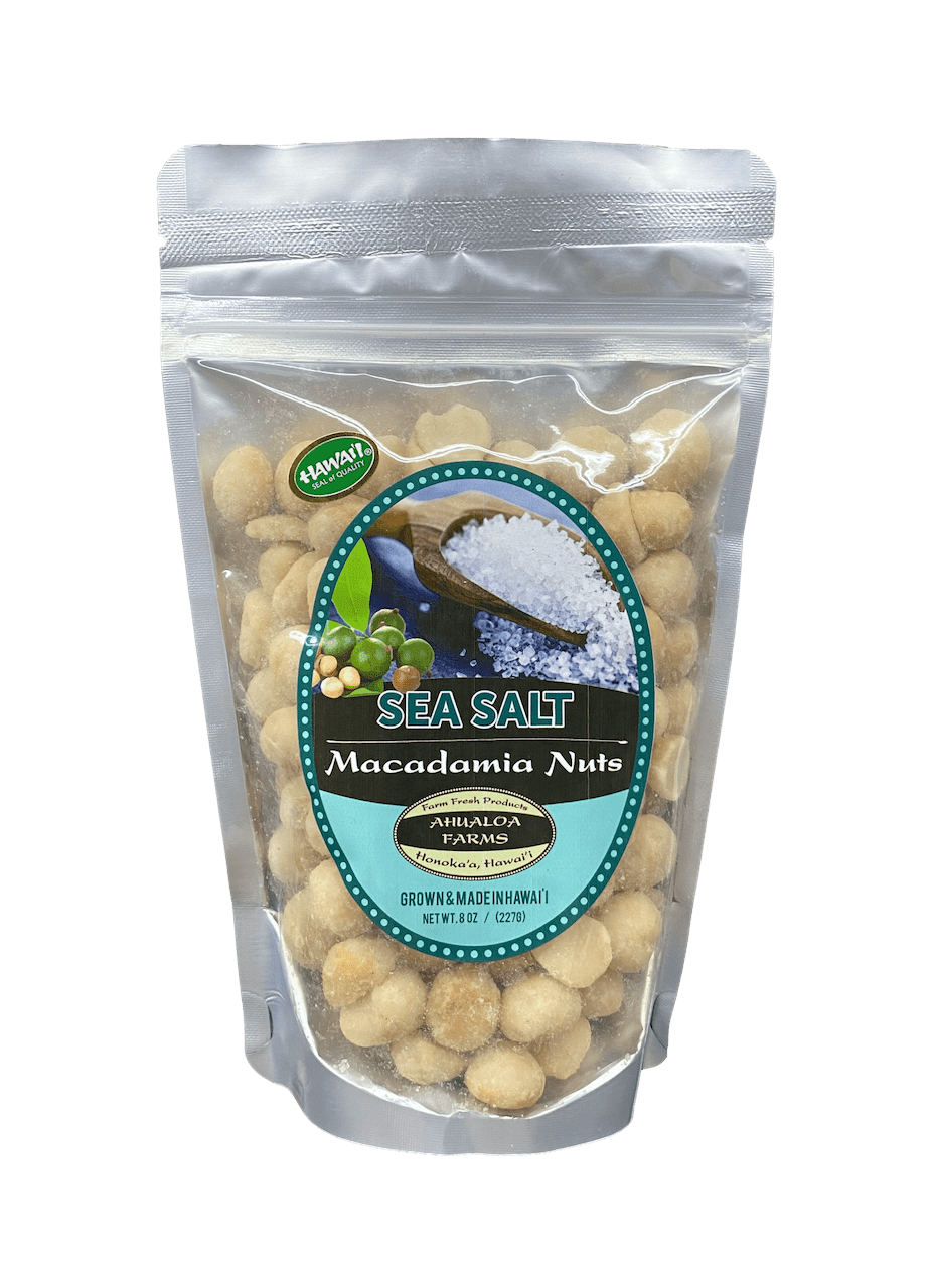 Sea Salt Macadamia Nuts - Hawaiian Farmers Market{