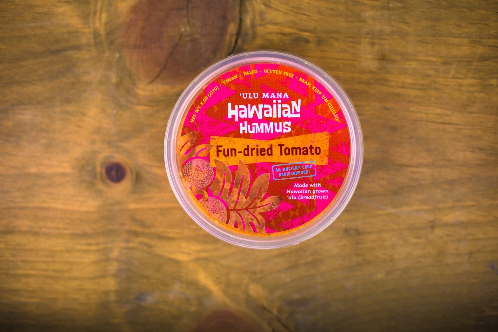 Fun-dried Tomato Hummus (SHIPS WITHIN HAWAII ONLY)