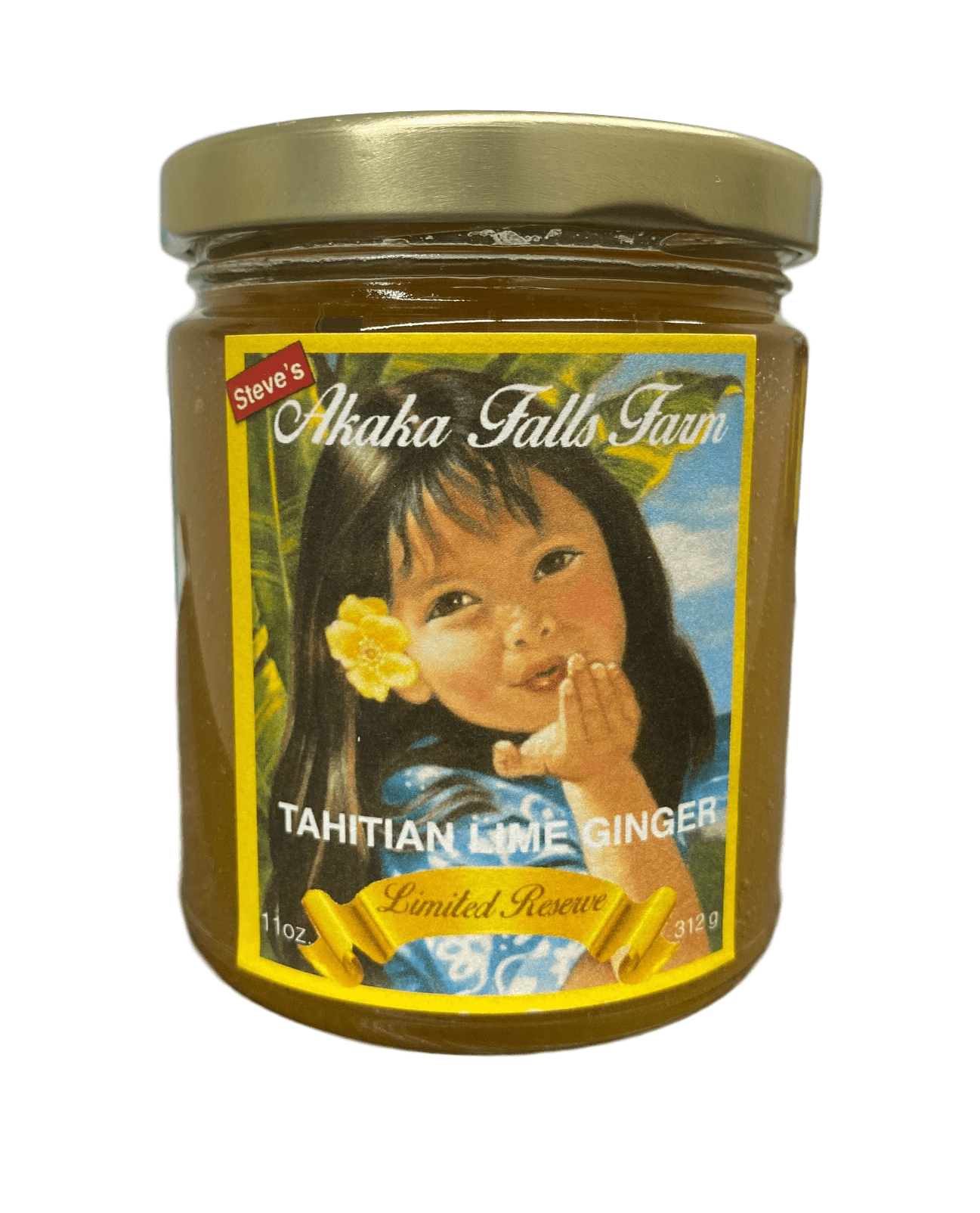 Tahitian Lime Ginger Jelly - Hawaiian Farmers Market