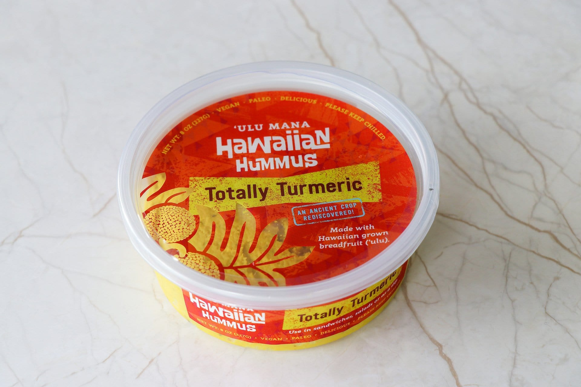 Hawaiian Hummus- Totally Turmeric (OAHU HOME DELIVERY ONLY) - Hawaiian Farmers Market{