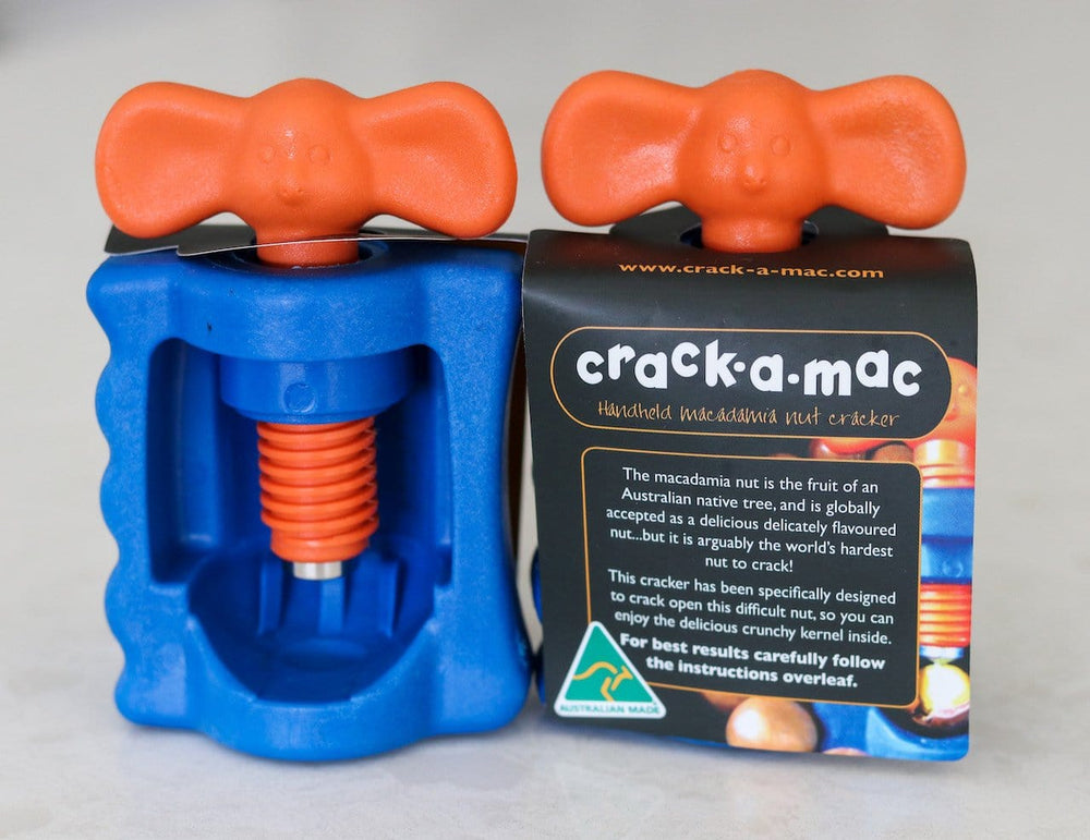 Crack-a-Mac™ - Handheld Macadamia Nut Cracker