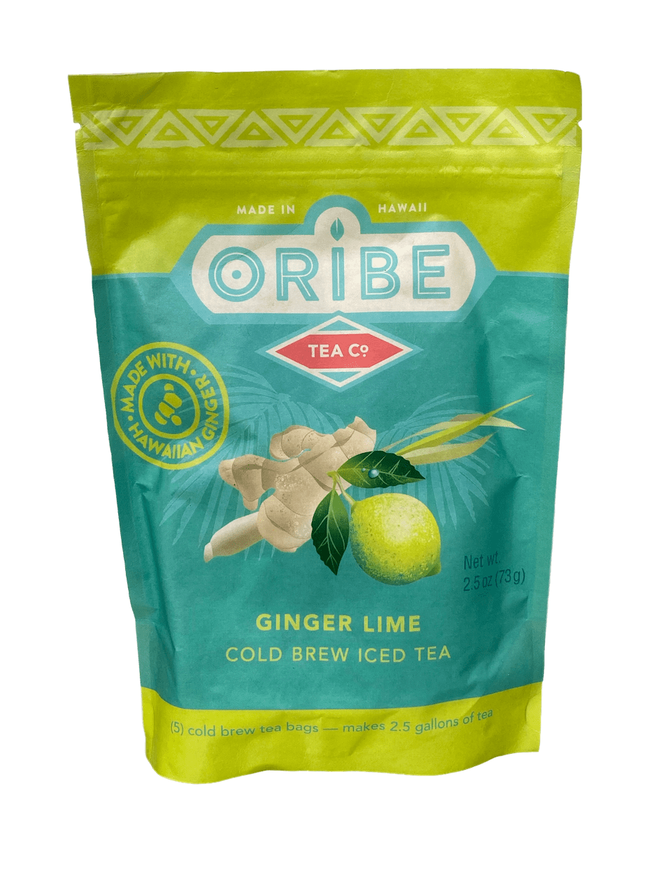 Ginger Lime Cold Brew Tea (Organic) 2.5oz