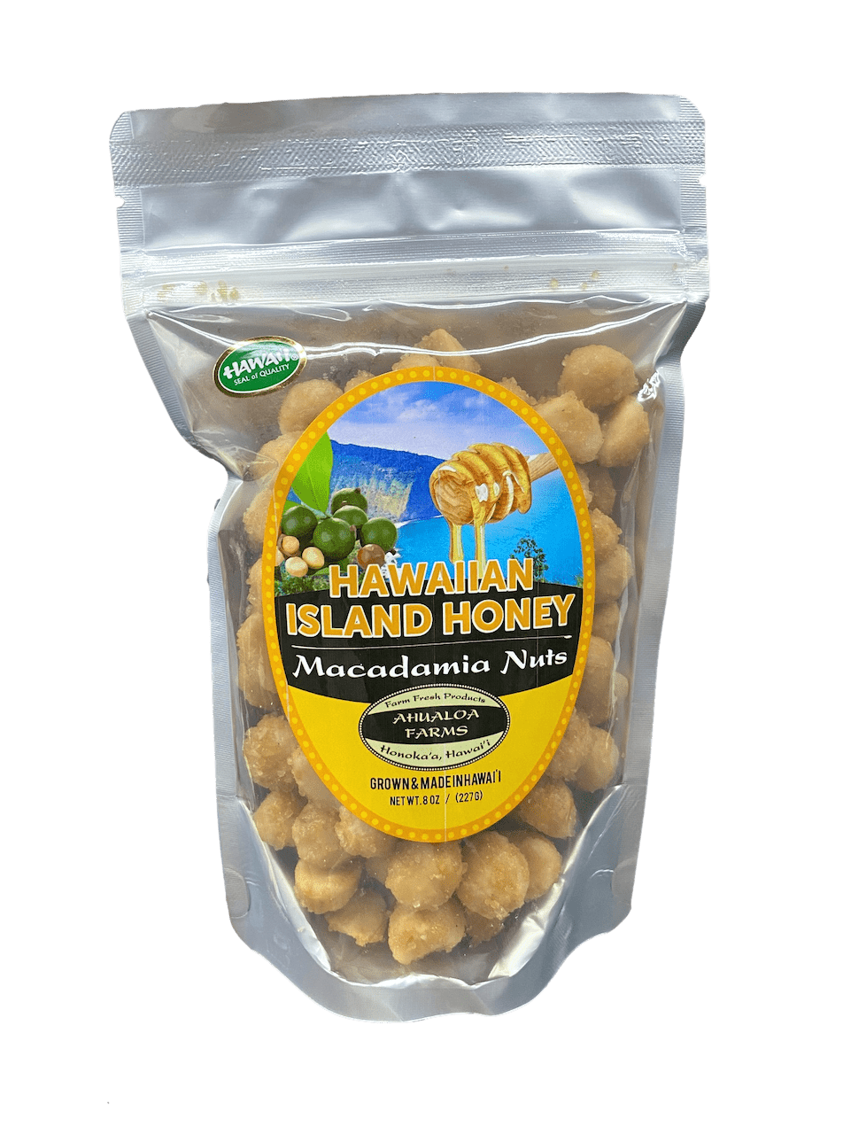 Honey Macadamia Nuts - Hawaiian Farmers Market{