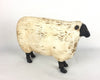 "Birch Maison Vintage Primitive Farmhouse Resin Sheep Figurine, Off-White - 6.25"" Tall"