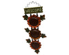 "Birch Maison Decorative Farmhouse/Country Tin Welcome Sign ""Sunflowers"" - 17"" Tall"