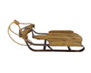 "Birch Maison Decorative Primitive / Farmhouse Farmhouse Metal Sleigh - 4.75"" Tall"