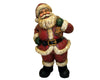 "Birch Maison Primitive / Farmhouse Paper Mache Santa with Bag, Standing - 17"" Tall"