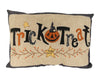 "Birch Maison Decorative Primitive / Farmhouse  Fabric Cushion ""Trick or Treat"" - 18""L x 5""W x 12""H"