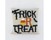 "Birch Maison Decorative Primitive / Farmhouse Fabric Pillow ""Trick Or Treat"", Tan - 14"" L x 6"" W x 14"" H"