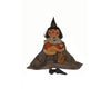 "Birch Maison Decorative Primitive / Farmhouse Fabric ""Trick or Treat? Smell my Feet!"" Raggedy Halloween Witch with Candy Corn - 24"" Tall"