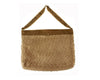 "Birch Maison Decorative Primitive / Farmhouse Decorative Chenille Bag, Beige / Brown - 16"" Long x 13"" Tall"