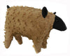 "Birch Maison Decorative Primitive / Farmhouse Standing Chenille Sheep - 11"" Tall"