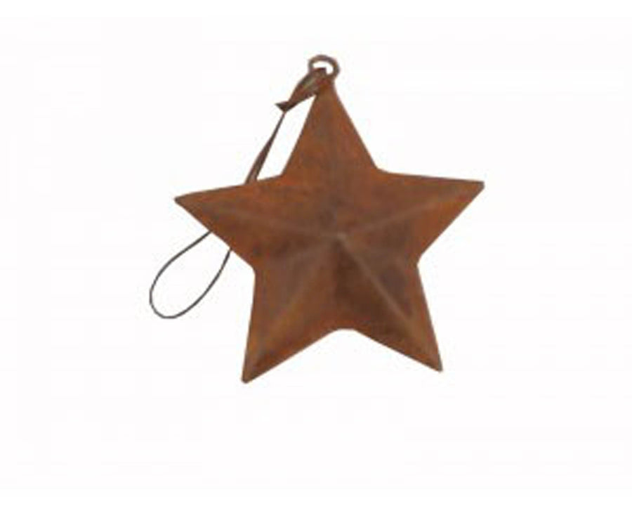 Country Star with Hanger, Rustic
