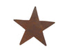 "Birch Maison Decorative Primitive / Farmhouse Flat Tin Star Cut Out Wall Décor, Rustic - 7"" Tall"