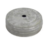 "3.25"" NAT SCREW ON LID W/HOLE  Craft Outlet"