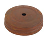 "3.25"" RUSTIC SCREW ON LID W/ HOLE  Craft Outlet"