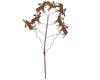 "Birch Maison Decorative Primitive / Farmhouse Puffy Tin Moose on a Wire Stick - 13"" Tall"